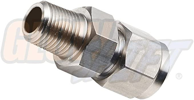 GlowShift Replacement Exhaust Gas Temperature EGT Probe 1//8-27 NPT Thread /& Ferrule Fitting Previous Model