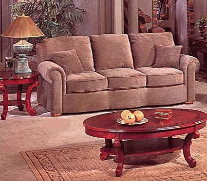 Amazon.com: Sage Velvet Style Fabric Sofa/Couch in ...