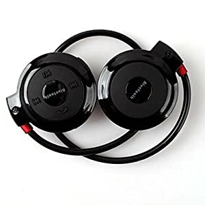 Black Wireless Bluetooth Stereo Sports Foldable Headset MIC for iPhone iPad Laptop PC