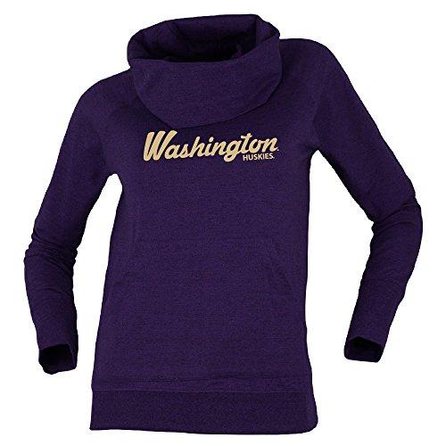 Bruzer NCAA Washington Huskies Womens Cozy Cowlcozy Cowl, Purple Mix, Medium