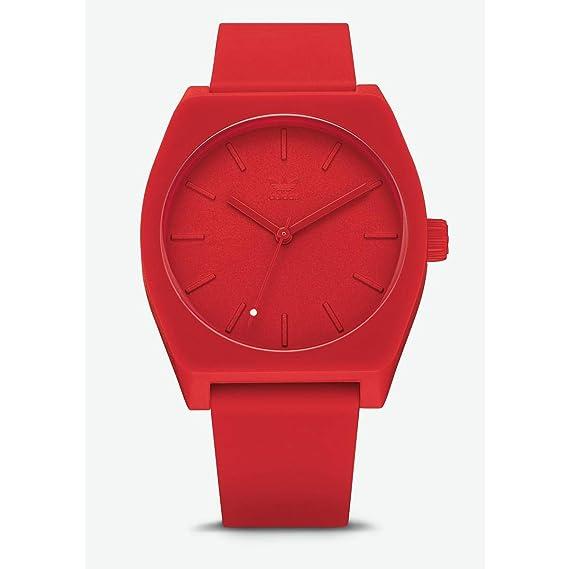 Adidas Reloj Analógico para Hombre de Cuarzo con Correa en Silicona Z10-191-00: Amazon.es: Relojes