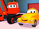 Tom The Tow Truck and Dane the Demolition Crane