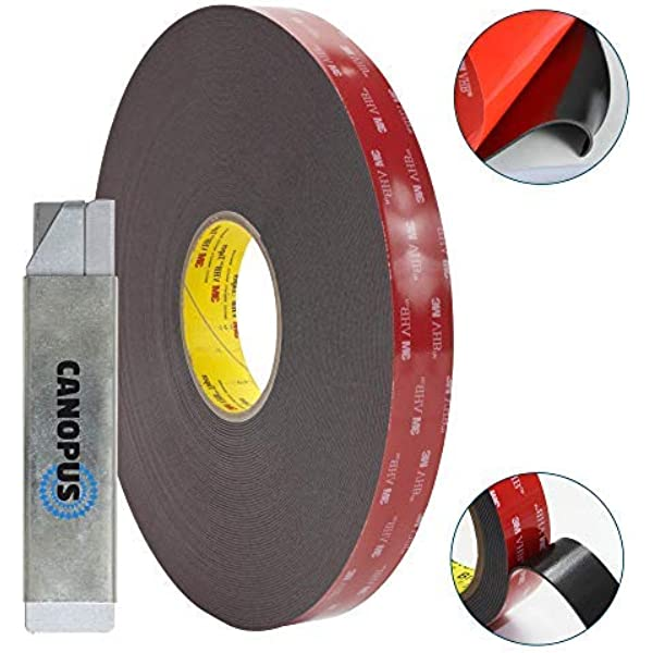 Simple permanent bonding with double coated tape fi 3M VHB 5952 Adhesive Tape