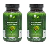 Irwin Naturals Immuno-Shield All Season Wellness Dietary Supplement Liquid Gel Caps, 100-Count Bottles (Pack of 2) Review