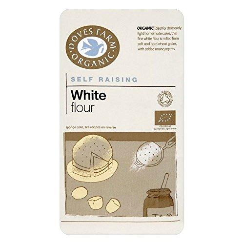 Doves Farm Organic White Self Raising Flour (1Kg) - Pack of 2 by Doves Farm