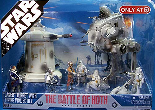(Star Wars The Battle of Hoth 30th Anniversary Saga 2007 Exclusive Action Figure Mega-Pack )