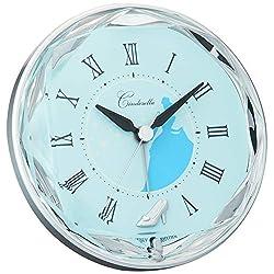 DISNEY / Cinderella (rhythm clock) Princess Series electronic sound alarm 4SE546MC04