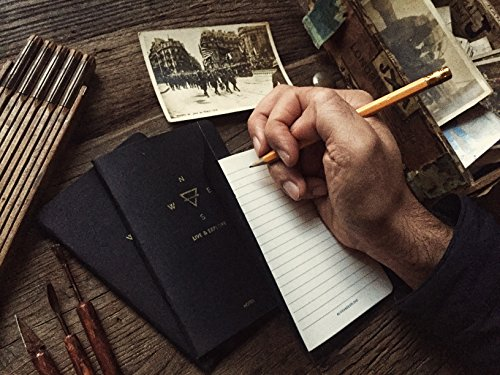 Explore Notes - Travel Notebooks - Black 3-Pack Photo #4