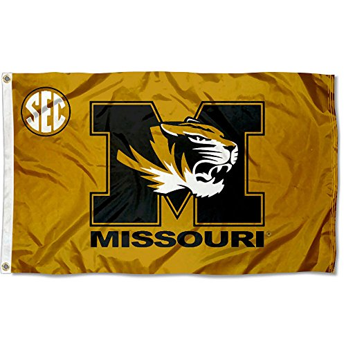 (College Flags and Banners Co. University of Missouri SEC 3x5 Flag)