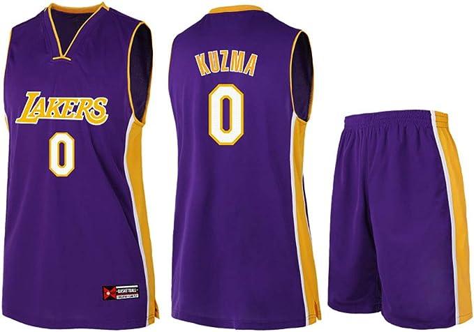 NBA Lakers - Equipación de Baloncesto, diseño Vintage, Color ...