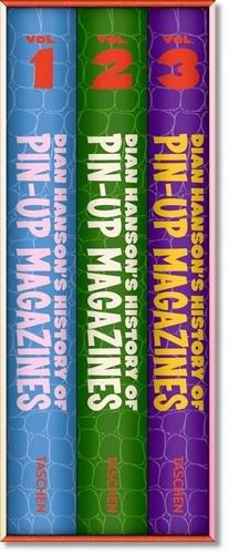 Dian Hanson's History of Pin-up Magazines Vol. 1-3