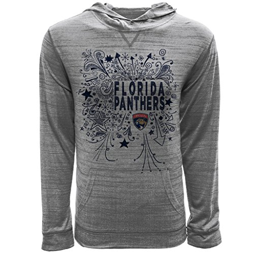 - Levelwear LEY9R NHL Florida Panthers Youth Unisex Jr Anchor Hoody Scribbled Long Sleeve Hooded Tee, Ys, Heather Pebble