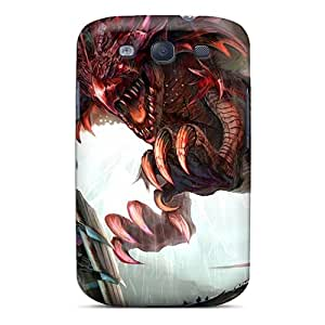 Premium Dragons Knights Monster Hunter Fantasy Art Rathalos Back Covers Snap On Cases For Galaxy S3