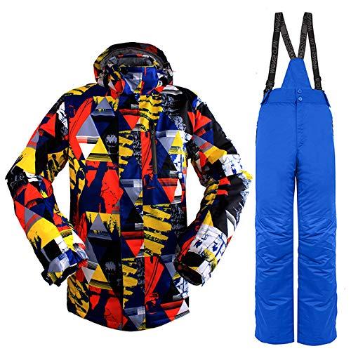 WILD SNOW Chaquetas y Pantalones de esquí para Hombres Trajes de 2 ...
