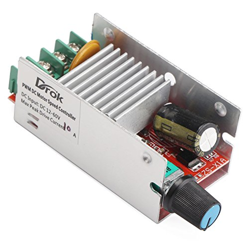 Drok motor speed control driver board 10v 60v 10a 420w for Motor speed control methods