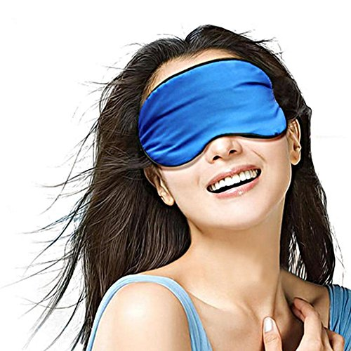 dolly2u Ultra Lightweight Eye Mask Sleep Mask Eye Cover Eye-shade Silk, D