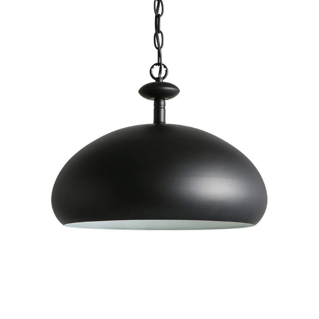 Eeayyygch Nordic Retro Minimalist Semi-Circular Eisen Kunst Lampe, Restaurant Schlafzimmer Apartment Kronleuchter (Farbe   -, Größe   -)