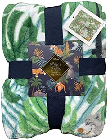 Licensed Disney The Jungle Book Throw - Manta (120 x 150 cm)