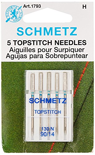 Cheap Topstitch Machine Needle-Size 90/14 5/Pkg (2 Pack)