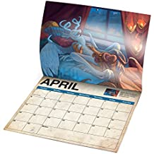 2018 Dragon Sex Wall Calendar Funny Calendar Gag Gift Inappropriate Hilarious Sarcastic Gift for Her or Him Gag Gifts Novelty Sex Dragons
