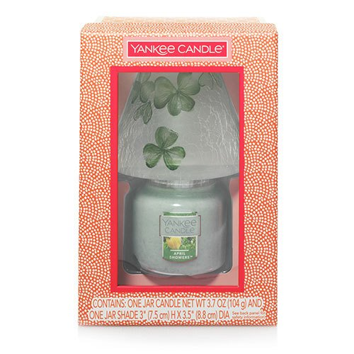 Yankee Candle Celtic Dreams Small Classic Jar And Shade Gift Set