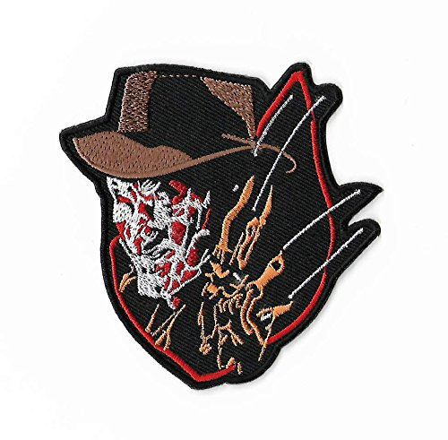 Freddy Krueger Patch Embroidered Iron / Sew on Badge Horror Movie A Nightmare on Elm Street Costume Souvenir (Freddy Kreuger Costumes)
