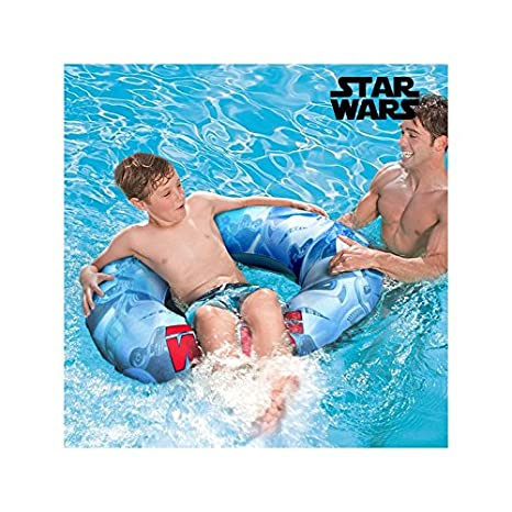 Rueda-Flotador Hinchable con Asas Star Wars: Amazon.es: Deportes y ...