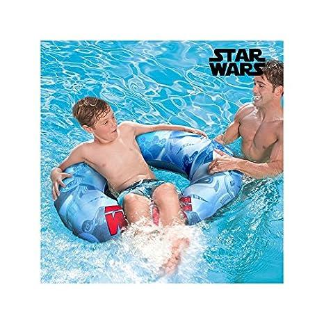 Rueda-Flotador Hinchable con Asas Star Wars: Amazon.es ...