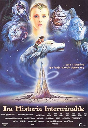 neverending story movie poster