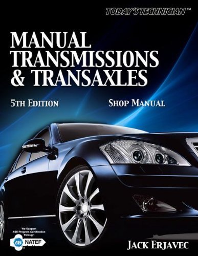 Download By Jack Erjavec Manual Transmissions & Transaxles (Today's Technician) [Spiral-bound] pdf epub