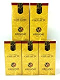 6 Boxes of Organo Gold Ganoderma -Gourmet Café Latte Coffee (20 sachets per box)