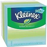 KLEENEX Lotion Facial Tissue, 3-Ply, 75 Sheets, 27 per Carton by Kimberly-Clark