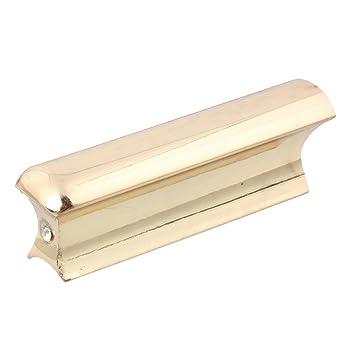 lyws Slide Dobro Barra deslizante de tono para guitarra eléctrica instrumentos de cuerda portátil oro: Amazon.es: Instrumentos musicales