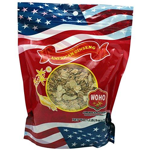 WOHO Висконсин Американский женьшень # 125.8 маленький кусочек сумка 8 унций
