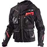 Leatt GPX 5.5 Enduro Offroad Jacket-Black/Grey-L