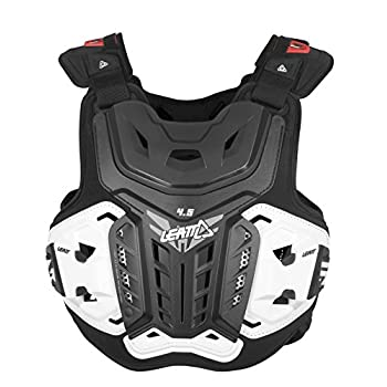 Image of Combined Chest & Back Protectors Leatt 4.5 Chest Protector (Black, XX-Large)