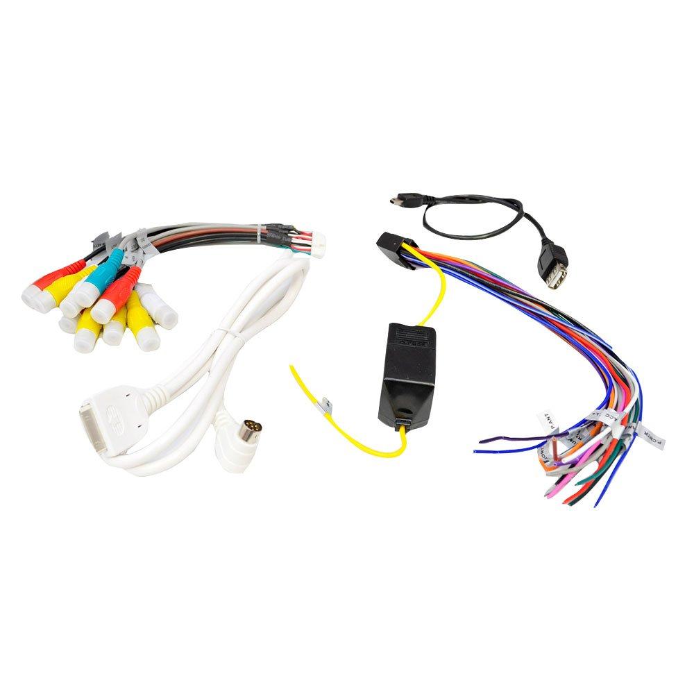 Amazon.com: Pyle PLDN73I 7-Inch Double-DIN TFT Touchscreen  DVD/VCD/CD/MP3/MP4/CD-R/USB/SD-MMC Card Slot/AM/FM/iPod Connector: Car  Electronics