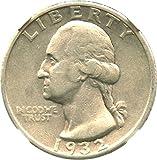 1932 S Washington Quarters (1932-98) Quarter VF35 NGC