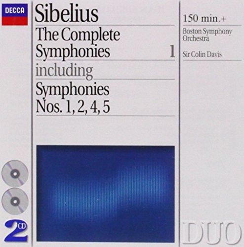 Sibelius: Complete Symphonies, Vol. 1 ~ Nos. 1, 2, 4 & - Symphonies Sibelius Nos