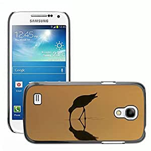 Hot Style Cell Phone PC Hard Case Cover // M00133662 Bird Sunrise Landscape Feeding // Samsung Galaxy S4 Mini i9190