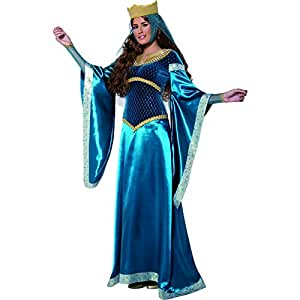 Smiffys - Disfraz dama disfraz Marion antigua Inglaterra