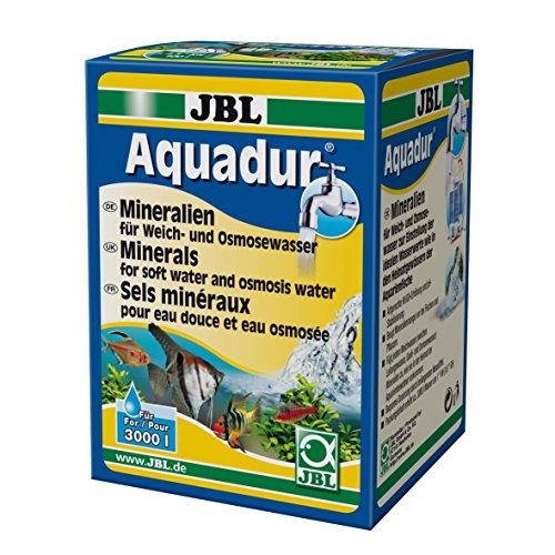 JBL Mineralsalz-Wasseraufbereiter für Süßwasser Aquarien, 250 g, Aquadur 24902