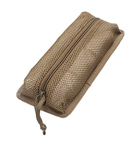 Detachable 4x8.5in Mesh Pouches/Compatible with our Tactical Notebook Covers