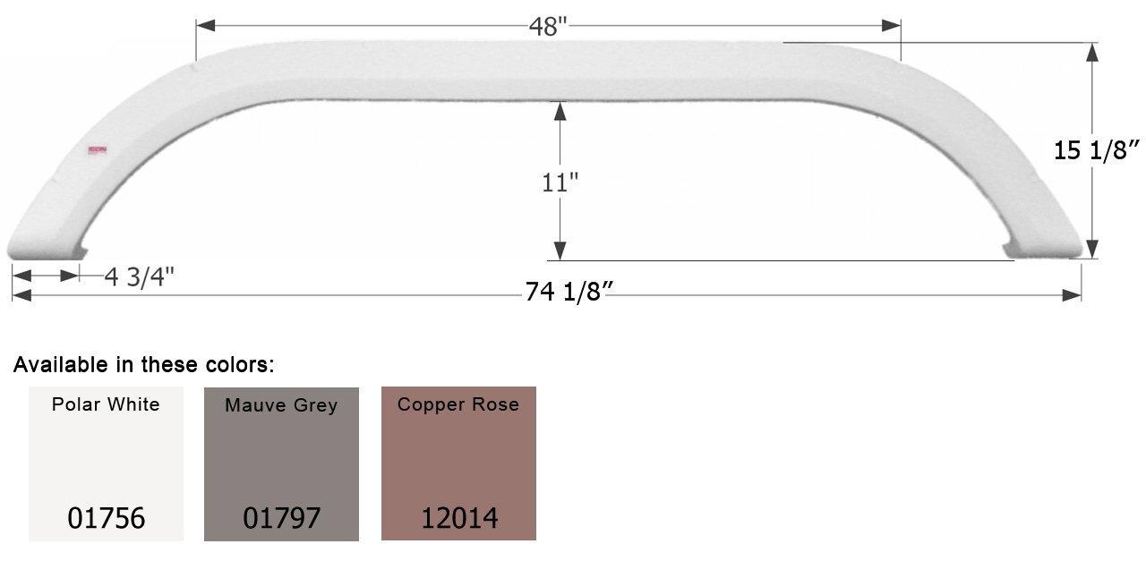 ICON 01797 Fender Skirt