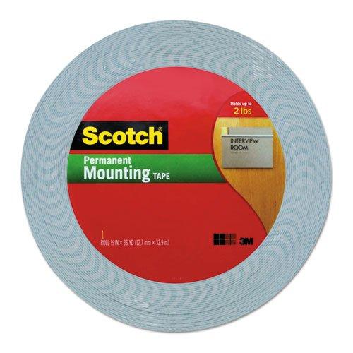 3M Scotch 1/2-Inch by 36-Yard Double-Sided Foam Tape (4016) ()