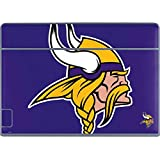 Skinit NFL Minnesota Vikings Galaxy Book Keyboard Folio 12in Skin - Minnesota Vikings Retro Logo Design - Ultra Thin, Lightweight Vinyl Decal Protection