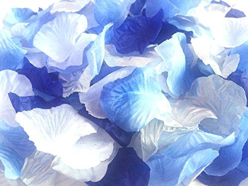 123zero 500 Pcs Mixed Color (White , Sliver, Dark Blue