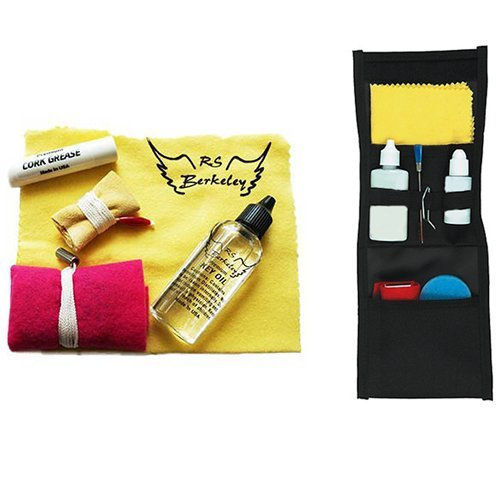 Marching Band Buddy for Bass Clarinet - Essential Travel Cleaning Care & Maintenance Pack for Bass Clarinet Players