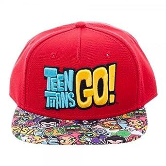 Baseball Cap - Teen Titans Go - Youth Snapback New sb4e40ttg  Amazon.co.uk   Clothing 6eeeedfc9608