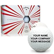 Callaway Golf Prior Generation Chrome Soft X Personalized Golf Balls